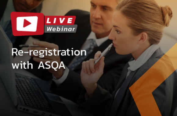 Re-registration with ASQA